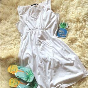 Cute white cotton dress